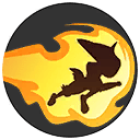 Flame Charge Pokemon Unite Ability Icon