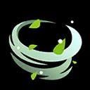 Leaf Tornado Pokemon Unite Ability Icon