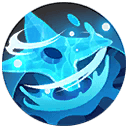 Waterburst Shuriken Pokemon Unite Ability Icon