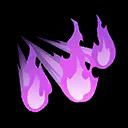 Will-o-Wisp Pokemon Unite Ability Icon
